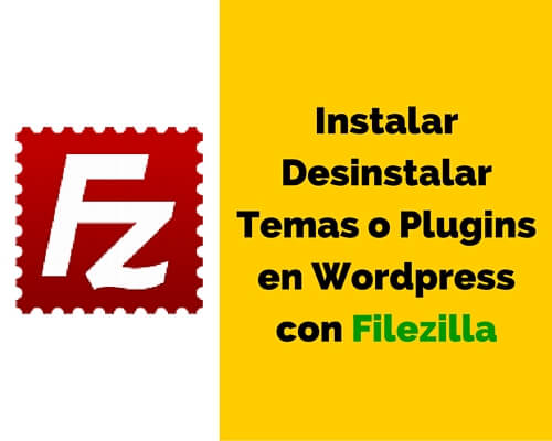 usar filezilla en wordpress