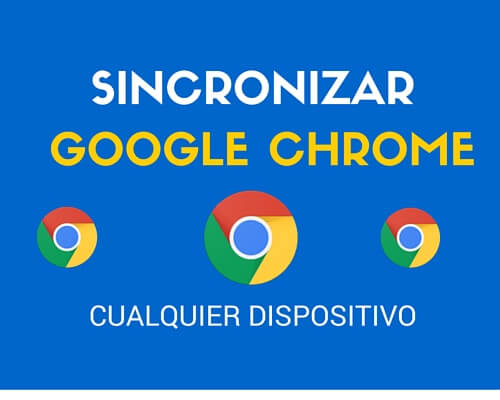 sincronizar marcadores de google chrome