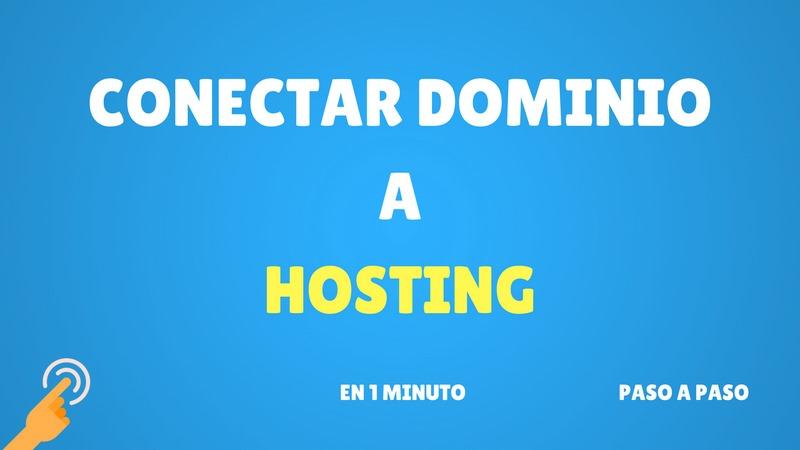 Cómo conectar un dominio a un hosting en menos de 1 minuto