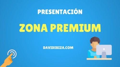 Presentación Zona Premium – DavidIbiza.com