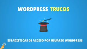 Estadísticas de acceso por usuario WordPress