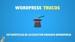 Estadísticas de acceso por usuario WordPress