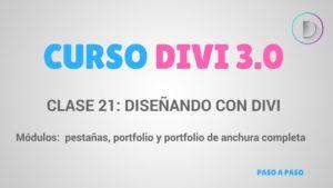 Módulos divi-pestañas-portfolio-portfolio de anchura completa