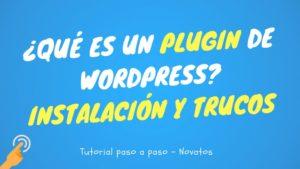 que es un plugin wordpress