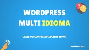 Configuracion de wpml