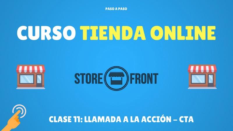 Curso de Storefront #11: Llamada a la acción – CTA (Premium)
