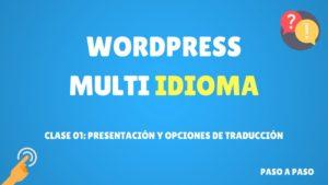 presentación y opciones de traducción para wordpress