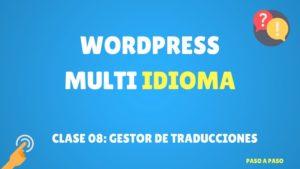 gestor de traducciones wordpress