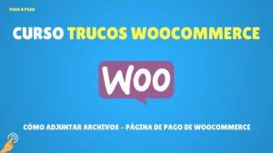 CÓMO ADJUNTAR ARCHIVOS - PÁGINA DE PAGO DE WOOCOMMERCE