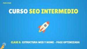 Estructura Web y Home-page Optimizada