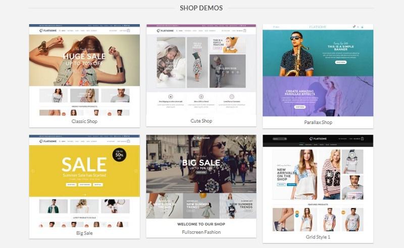 Crear tienda online con flatsome