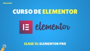 Curso de Elementor: Elementor Pro