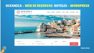 Web reservas hoteles WordPress