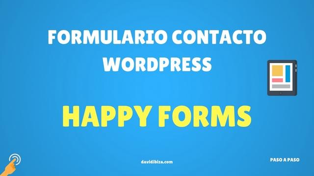 Happyforms | Formularios de Contacto para WordPress Gratis