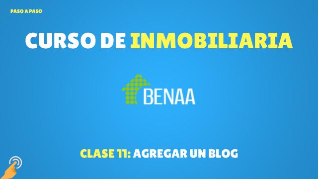 Agregar un blog
