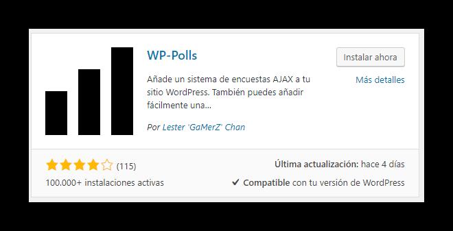 Plugin WP POLLS
