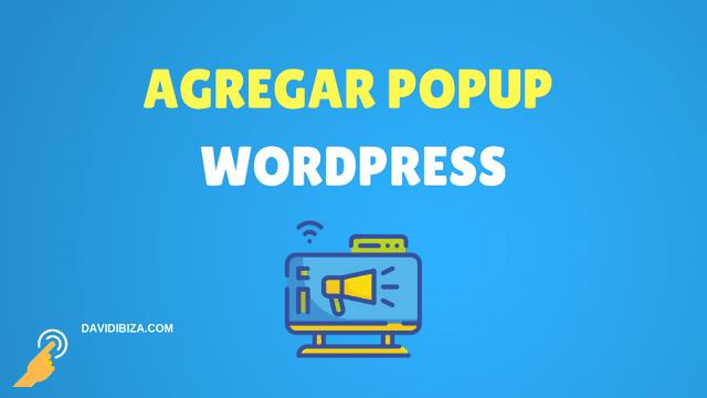 agregar popup a wordpress