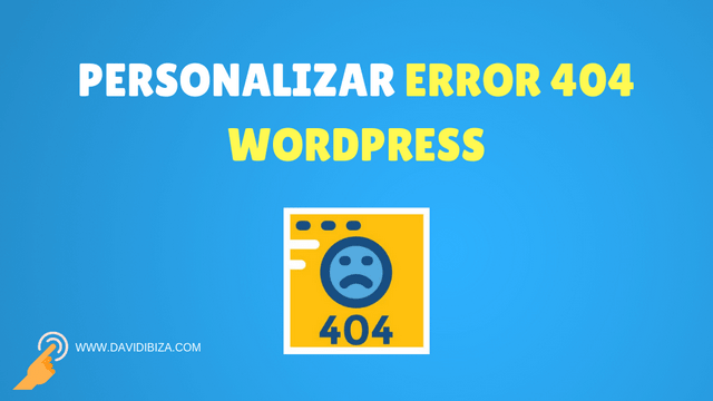 personalizar error 404 wordpress