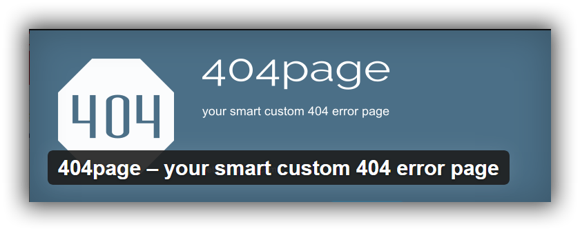 plugin404page WordPress