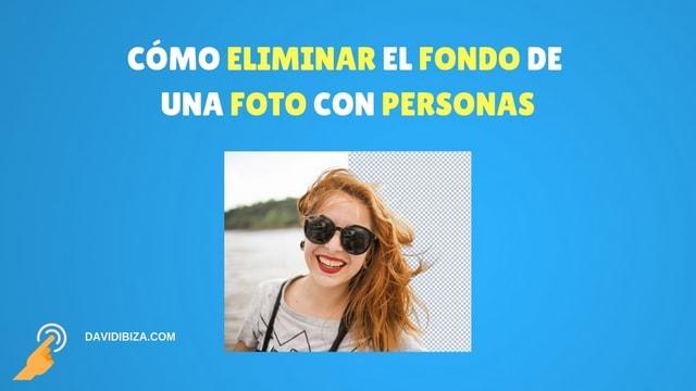 Cómo eliminar el fondo de una imagen de personas (100% automático)