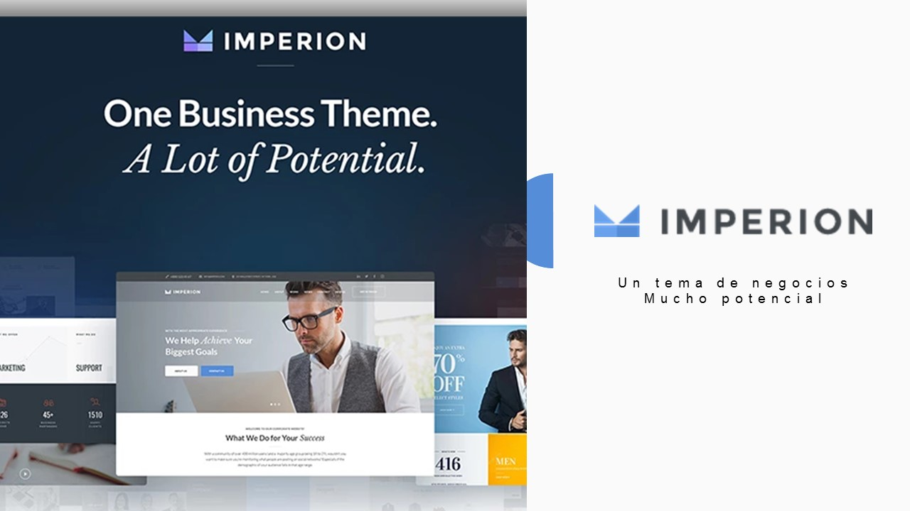 IMPERION: El mejor tema para sitios corporativos