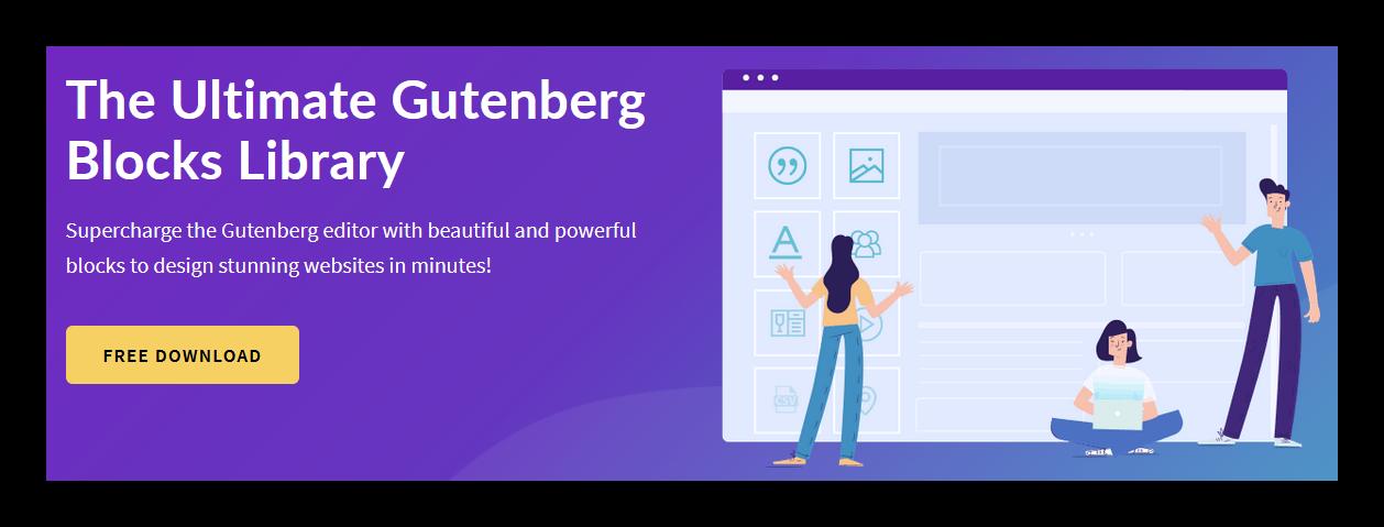 Ultimate Gutenberg Blocks Parte 2: Pack de bloques gratuitos para Gutenberg