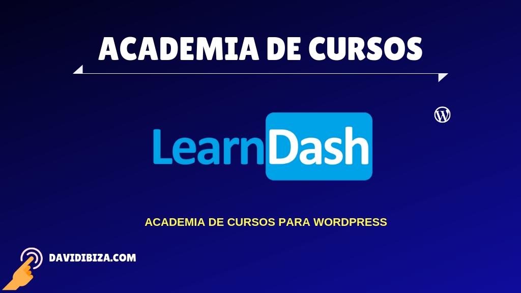 Curso LearnDash para crear Academias con WordPress
