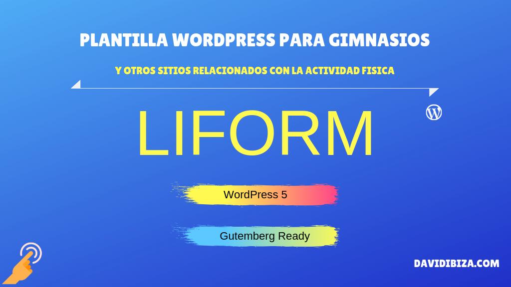 Liform  – Tema WordPress para gimnasios y otros deportes – TemplateMonster