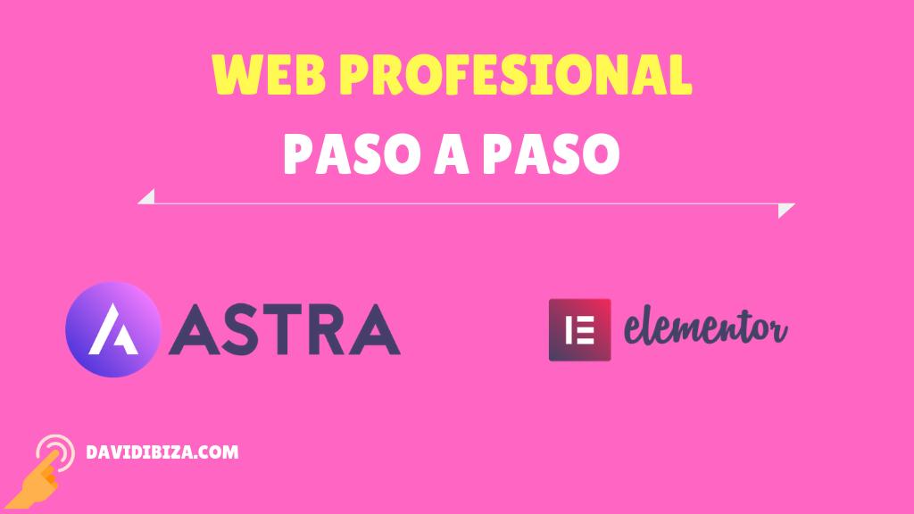 Curso Crea tu sitio Web con Astra+Elementor – Presentación ✅