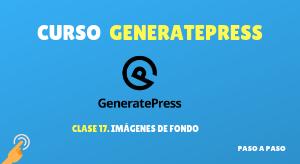 Curso de GeneratePress #17: Imágenes de fondo