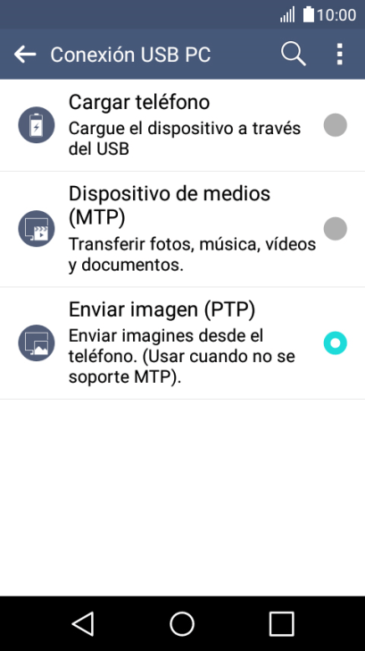 copiar fotos del movil al pc