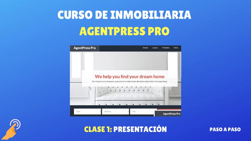Curso de Inmobiliaria AgentPress Pro presentacion