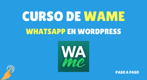 curso de wame whatsapp para wordpress