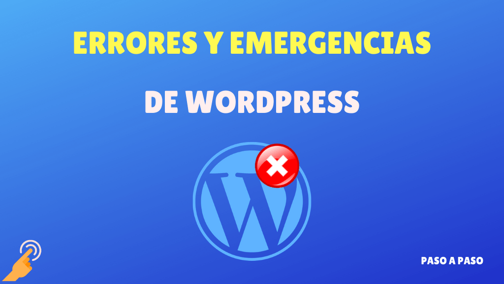 Curso errores y emergencias de WordPress