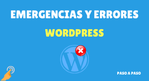 curso emergencias y errores wordpress