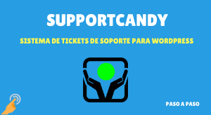 cuso de suppportcandy tickets de soporte para wordpress