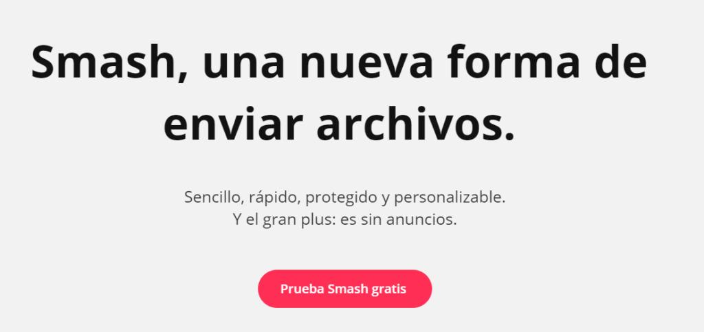 enviar archivos grandes