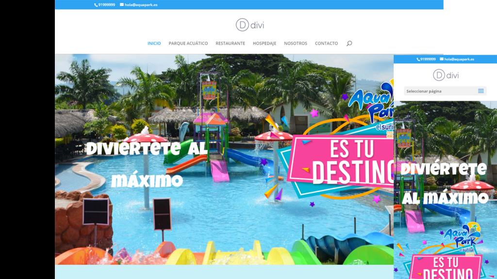 web parque acuático